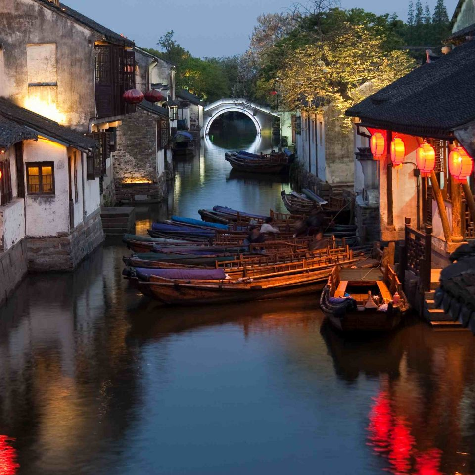 02Famous water village Zhouzhuang in Jiangsu ,China