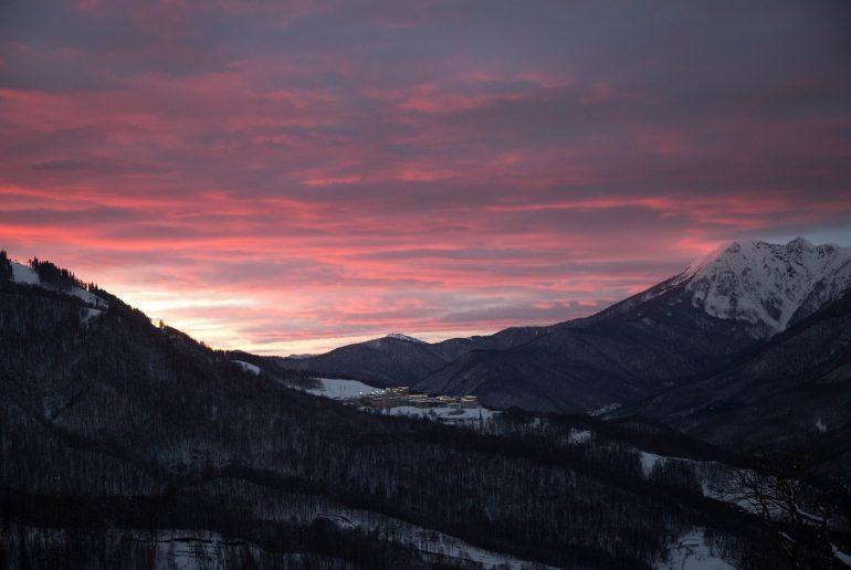 Sochi, un destino de nieve junto al mar