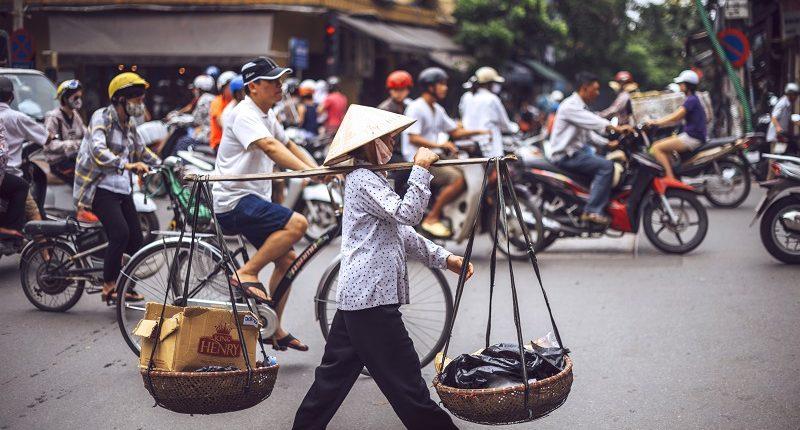 Vietnamita por calle de Vietnam, un viaje a medida de Bhárad