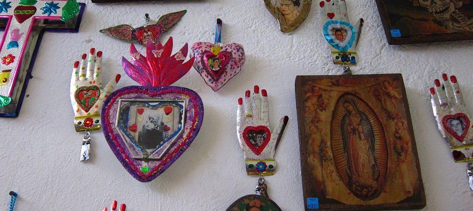 Casa azul de Frida Kahlo tiene obras de la artista mexicana.