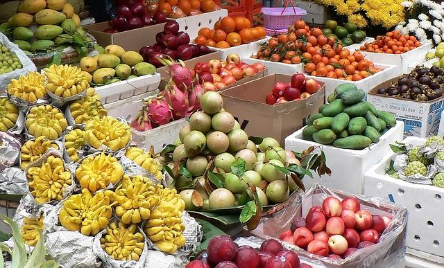 Viajar a Vietnam - frutas