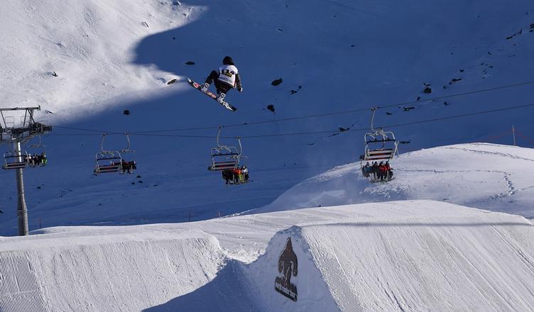 estacion de esqui suiza
