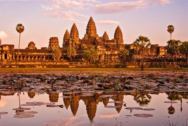 viajar de luna de miel a Camboya