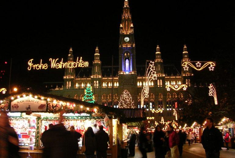 Mercadillo europeo Navidad