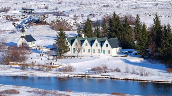 Bharad Travel. Paisaje de Thingvellir. Islandia